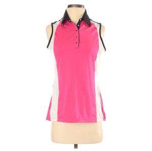 CALLAWAY Golf Collar Sleeveless Tank Top Sz S